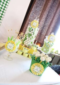 Masters Golf 1st Birthday Party | CatchMyParty.com
