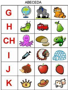Montessori Activities, Educational Activities, Preschool Activities, Alphabet For Kids, Alphabet Book, Numbers For Kids, Matching Games, Creative Kids, Preschool Crafts