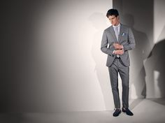 EXCLUSIVE OVERCHECK SUIT IN 360 GRADI WOOL – MADE IN ITALY