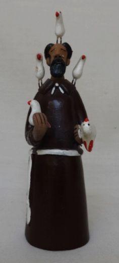 Cícero do Vale. São Francisco de Assis. 16 cm
