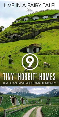 """You can live in your Hobbit dream! Modular """"Hobbit hole"""" units can be interconnected creating luxury Hobbit estates. You may plan your future Hole house with confidence! Diy Hanging Shelves, Diy Wall Shelves, Hobbit Hole, The Hobbit, Diy Home Decor Projects, Diy Projects To Try, Diy Videos, Casa Dos Hobbits, Dollar Tree Storage Bins"""