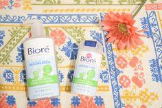 Nighttime skincare with new Bioré Baking Soda products! #mybiorefizz #ad