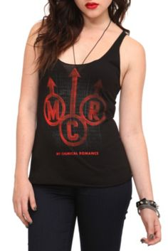 My Chemical Romance Arrows Girls Tank Top