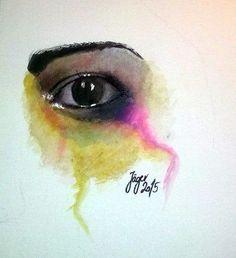 Akvarell A/4