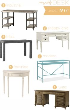Shabby Chic desk - love the idea for painting my sewing table!