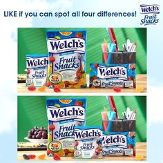 Welch's Fruit Snacks on the job? Sounds like a great time to us!
