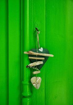 Green in children's rooms