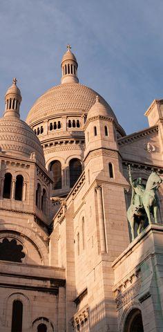 Basilique du Sacré-Coeur, Montmartre, Paris, France