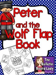 Peter and the Wolf Flap BookThis flap book is a fun and easy way to reinforce the sequence of events in Peter and the Wolf.  It contains 6 key moments with a matching picture.  Included in this download are 3 different versions of the same flap book. The variations include one with the story events already numbered, one that asks students to number the back of the flaps and another that just asks students to fold that flaps down in backwards order.