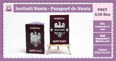 Invitatii Nunta Pasaport de Nunta personalizate in culoare si grafica adaptata evenimentului! Invitatii deosebite in grafica si design, marca bebestudio11. Drinks, Design, Drinking, Beverages, Drink, Beverage