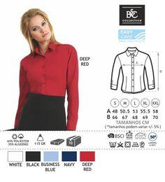 URID Merchandise -   CAMISA B&C SMART SENHORA MANGA COMPRIDA   18.48 http://uridmerchandise.com/loja/camisa-bc-smart-senhora-manga-comprida/