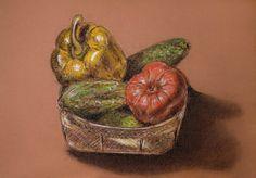 Vegetable Basket by dozhdi