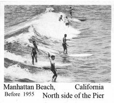 1955 Manhattan Beach Surfers.