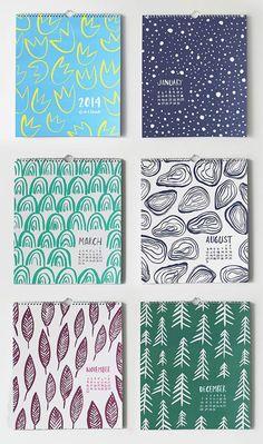 Вдохновляемся дизайном календарей