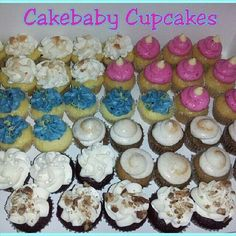 Work Event? Holiday Party? Family Affair? Grab an assortment of your favorite Cakebaby flavors in bite size heaven! CBC Jrs in Banana Pudding, White Chocolate Raspberry, Lemon Blueberry, Sweet Potato Pie, and Red Velvet! #cakebabycupcakes #cupcakes #minis #holiday #party #Atlanta #Delivery