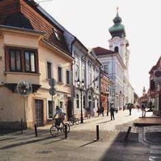 Imádnivaló egyetemi városom, újra diákként üdvözölve Imádlak Győr! #mobilephoto #ig_hun #ikozosseg #mik #tan ítóképző #nymeak #Gy őr #lovelycity #iloveyousomuch #ig_hungary #ig_gy őr #ig_magyarorsz ág #beautifulday #beautifulcity #loves_hungary #loves_europe #europe_gallery Mobile Photo, Budapest Hungary, Homeland, Places To Travel, Castle, Street, Landscapes, City Landscape, Budapest