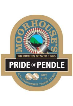 MOORHOUSE'S PRIDE OF PENDLE - an exceptionally fine balance of malt and hops give this beer a long dry and extremely satisfying finish. Double Gold and Championship Trophy – International Brewing Awards 2004.