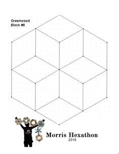 Barbara Brackman's MATERIAL CULTURE: Morris Hexathon 8: Greenwood