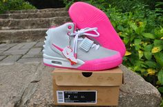 Nike Air Yeezy 2 Women Shoes-Pink Department , wholesale for sale  55.99 - www.hats-malls.com