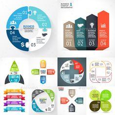 4 Steps Infographics Template PSD, Vector EPS, AI Illustrator