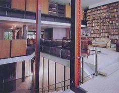 Maison de Verre for Jean Dalsace, 1932, Pierre Chareau, Bernard Bijvoet and Louis Dalbet, 31 Rue St-Guillaume, Paris, France