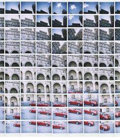 polaroids Impossible Project, Fuji Instax, Portfolio Presentation, Portfolio Layout, Built Environment, Fiat 500, Postmodernism, Abstract Pattern, Pop Up