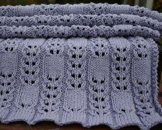 Knitting circular needles baby blanket   Cuddle Baby Blanket by Amanda Lilley   Knitting Pattern