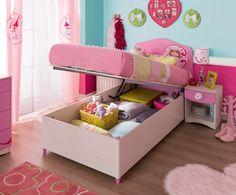 Cilek SL Princess Bett mit Bettkasten