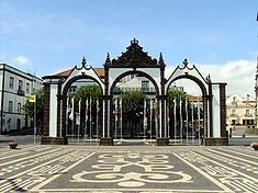 moms home town Ponta Delgada, Sao Miguel, Azores, Portugal Las Azores, Portugal, Ponta Delgada, Cape Verde, Canario, Archipelago, Great View, Amazing Architecture, Oh The Places You'll Go