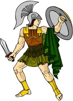 Although on an epic scale, the Battle for Troy involves some very personal grudges between the warriors. The climax of our story is the showdown between the Greek Achilles and the Trojan Hector. Troy Achilles, Study Island, Images Of Nurses, Greek Soldier, Cute Nerd, Greek Gods And Goddesses, Greek Mythology, Ruined City, Great Warriors