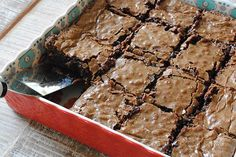 The BEST Brownie Recipe for chewy, gooey #brownies!