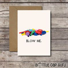 Funny Birthday Card BLOW ME Balloons Printable Cards For Him Her Best Friend Offensive Happy Greeting JPG Download