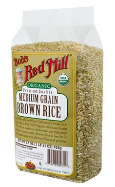 Bobs Red Mill Organic Brown Rice