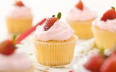Receita de Cupcakes de morango - iG