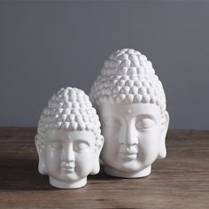 Cheap chinese style, Buy Quality decorating style directly from China decorative decorative Suppliers: Chinese style, Buddha statue, Buddha head ornament, ceramic figurine, simple Home Fengshui decor, 2 size optional ~