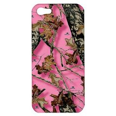 New Womens Girls Pink Camo Apple iPhone 5 Hard shell Case