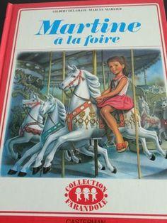 Livre Martine Foire Casterman, Album Martine Edition 70, Livres Delahaye Vintage - Bambin-Vintage