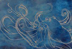 octapus art | Octopus Art Print
