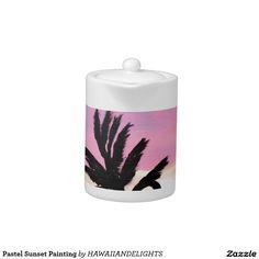 Pastel Sunset Painting
