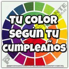 ¿Cuál es el color indicado según tu cumpleaños?