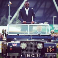 When people pick on my Land Rover...all I have to say is the Queen