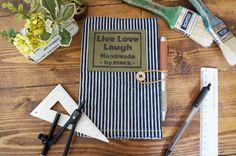 【簡単100均リメイク】古着のデニムで可愛い手帳カバー*裁縫が苦手でも大丈夫! LIMIA (リミア) Live Love, Diy And Crafts, Cover, Books, Handmade, Libros, Hand Made, Book, Book Illustrations