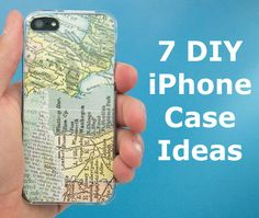 Get creative with your phone case! ...Book pages aren't on this list, but they should be! Use your favorite page from your favorite book!
