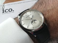 Jaeger LeCoultre Master Moon Ultra Thin, One of JLC's Finest Stainless Dress Watches #jaeger lecoultre #JLC #Moonphase #Watches #Horology #Womw #Wruw #Menswear - omegaforums.net