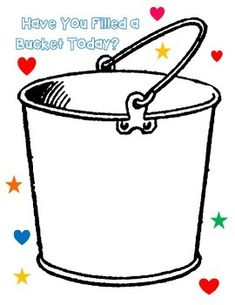 Have you Filled a Bucket Today Middle School Counselor, Elementary School Counseling, School Social Work, Elementary Schools, Bucket Filler Display, Bucket Filling Activities, Fill Your Bucket, Bucket Fillers, Social Emotional Development