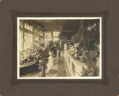 Clara Herms, Herms Floral Company. In 1910, the floral showroom was located at 602 Chillicothe Street.