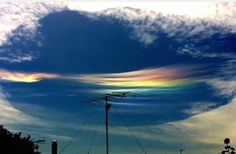Rare Fallstreak Hole Appears Over Australia Australians on Wednesday were treated to a bizarre sight in the sky: a fallstreak hole, which forms from droplets in the cloud that are below freezing, but haven't yet frozen.