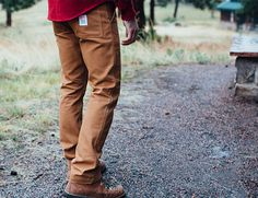 Topo Designs Introduces Tough, Proper Fitting Work Pants