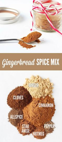 Make your own Gingerbread Spice Mix at home to use all throughout the holiday…