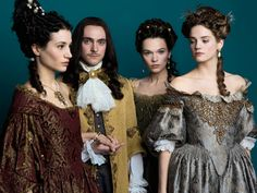 Versailles - Marie-Thérèse and Louis XIV with Henriette and Montespan